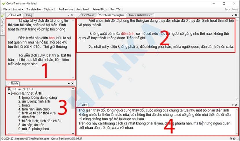 phần mềm dịch tiếng trung quick translator