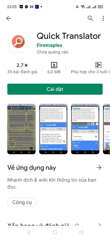 ứng dụng dịch tiếng trung trên điện thoại