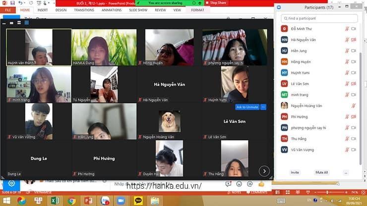 khóa học tiếng hàn online miễn phí tại hanka